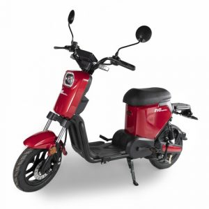 E-scooter evo maxx e-line rood